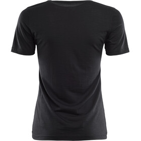 Aclima LightWool T-Shirt Femme, jet black